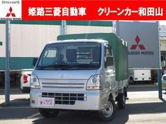 キャリイトラック660 KC 3方開 4WD エアコン パワステ 社外CD