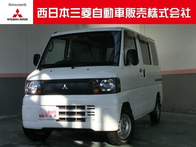 三菱 ミニキャブバン 660 CD 4WD (車検整備付)