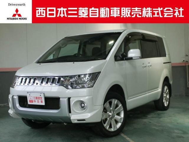 三菱 デリカD:5 2.4 G プレミアム 4WD (車検整備付)