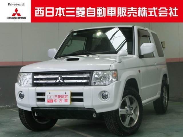 三菱 パジェロミニ 660 ホワイトパールセレクト 4WD (検3...