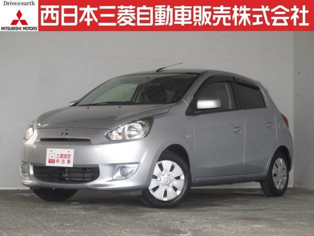 三菱 G 距離無制限保証1年付 オーディオレス車 スマートキー付