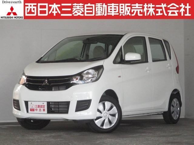 三菱 eKワゴン E 距離無制限保証1年付 オーディオレス車 (検...