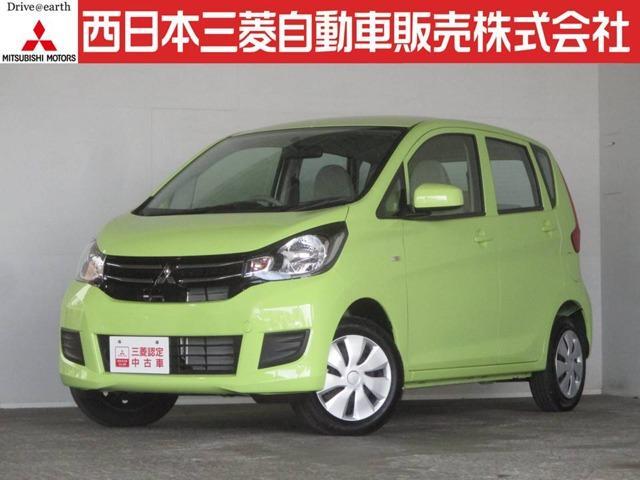 三菱 eKワゴン E 距離無制限保証1年付 オーディオレス車 シー...