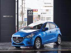 沖縄の中古車 マツダ デミオ 車両価格 169.8万円 リ済別 平成26年 0.2万K ダイナミックブルーマイカ
