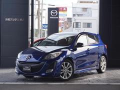 沖縄の中古車 マツダ アクセラスポーツ 車両価格 99.8万円 リ済別 平成22年 6.7万K インディゴライトマイカ