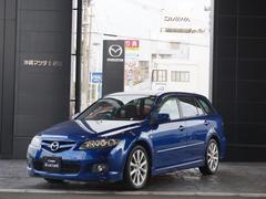 沖縄の中古車 マツダ アテンザスポーツワゴン 車両価格 49.8万円 リ済別 平成18年 11.0万K ブルーパシフィックMC
