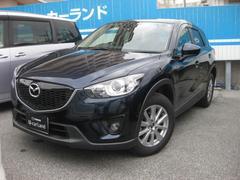 沖縄の中古車 マツダ CX−5 車両価格 169.8万円 リ済別 平成25年 5.0万K ディープクリスタルブルーマイカ