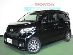 新潟の中古車 ホンダ N−WGNカスタム 車両価格 117.5万円 リ済別 平成26年 3.4万K ブラック