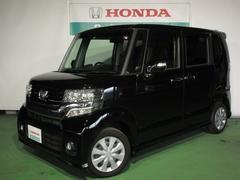 新潟県の中古車ならN BOXカスタム G ギャザズメモリーナビ
