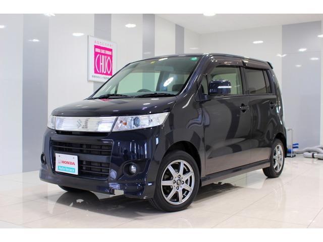 スズキ ワゴンRスティングレー T 4WDターボ HDDナビ付 (...