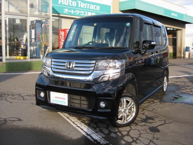 ホンダ N BOXカスタム G 4WD (車検整備付)