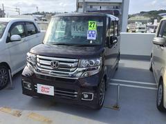沖縄の中古車 ホンダ N BOXカスタム 車両価格 164.8万円 リ済別 平成27年 0.6万K プレミアムベルベットパープル