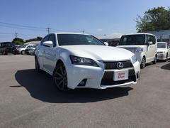 沖縄の中古車 レクサス GS 車両価格 329.8万円 リ済別 平成24年 3.5万K ホワイトパール