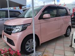 沖縄の中古車 ホンダ N−WGN 車両価格 113.8万円 リ済別 平成27年 0.7万K ピンクパール