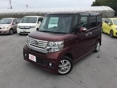 沖縄の中古車 ホンダ N BOXカスタム 車両価格 119.8万円 リ済別 平成24年 3.6万K ワインレッド