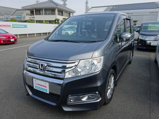 ホンダ ステップワゴンスパーダ S CD HID ETC付き (車...