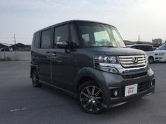 沖縄の中古車 ホンダ N BOXカスタム 車両価格 123.8万円 リ済別 平成25年 4.0万K グレーメタリック
