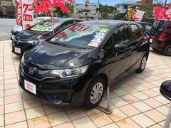 沖縄の中古車 ホンダ フィット 車両価格 138.8万円 リ済込 平成27年 1.0万K ブラック