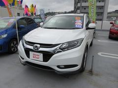 沖縄の中古車 ホンダ ヴェゼル 車両価格 214.8万円 リ済別 平成26年 1.5万K ホワイトオーキッドパール