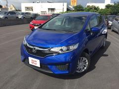 沖縄の中古車 ホンダ フィット 車両価格 119.8万円 リ済別 平成28年 0.9万K ブルーメタリック