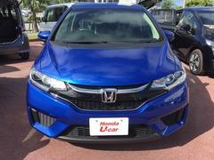 沖縄の中古車 ホンダ フィットハイブリッド 車両価格 149.8万円 リ済別 平成28年 0.9万K ブルーメタリック
