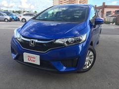 沖縄の中古車 ホンダ フィット 車両価格 119.8万円 リ済別 平成28年 0.9万K ブルー