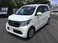 沖縄の中古車 ホンダ N−WGN 車両価格 92.8万円 リ済別 平成25年 1.4万K ホワイトパール