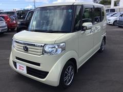 沖縄の中古車 ホンダ N BOX 車両価格 117.8万円 リ済別 平成25年 2.6万K ライトベージュ