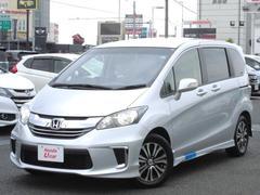 フリードX エアロ 福祉車両 デモカー ナビ Bカメ ETC VSA