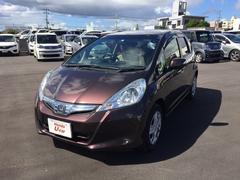 沖縄の中古車 ホンダ フィットハイブリッド 車両価格 104.8万円 リ済別 平成24年 2.1万K ブラウンパール