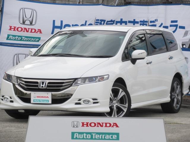 ホンダ アブソルート 4WD HondaHDDインターナビ ETC車載器
