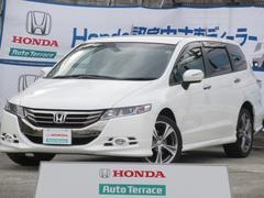 オデッセイアブソルート 4WD HondaHDDインターナビ ETC車載器