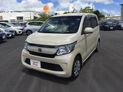 沖縄の中古車 ホンダ N−WGN 車両価格 124.8万円 リ済別 平成28年 0.8万K アイボリー