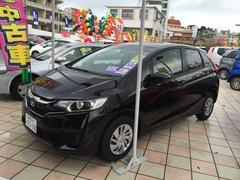 沖縄の中古車 ホンダ フィット 車両価格 140.8万円 リ済込 平成27年 0.5万K ブラック
