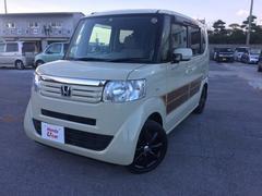 沖縄の中古車 ホンダ N BOX 車両価格 89.8万円 リ済別 平成24年 9.0万K アイボリー