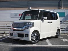 N BOX+カスタムG・Lパッケージ 当社下取ワンオーナー車 純正ナビ