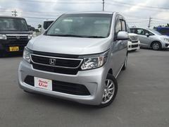 沖縄の中古車 ホンダ N−WGN 車両価格 122.8万円 リ済別 平成28年 1.0万K シルバーメタリック