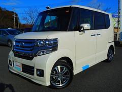 N BOXカスタムG・Lパッケージ 試乗車 デモカー ナビ