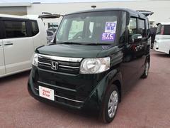 沖縄の中古車 ホンダ N BOX 車両価格 134.8万円 リ済別 平成28年 0.7万K グリーンパール