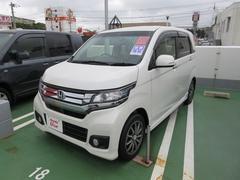沖縄の中古車 ホンダ N−WGNカスタム 車両価格 135.8万円 リ済別 平成28年 1.0万K パール