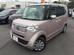 沖縄の中古車 ホンダ N BOX+ 車両価格 108.8万円 リ済別 平成26年 3.5万K ピンクメタリック