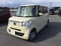 沖縄の中古車 ホンダ N BOX 車両価格 91.8万円 リ済別 平成24年 4.9万K ベージュ