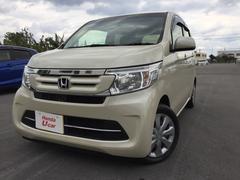 沖縄の中古車 ホンダ N−WGN 車両価格 121.8万円 リ済別 平成28年 0.9万K ベージュ