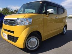 沖縄の中古車 ホンダ N−BOXスラッシュ 車両価格 169.8万円 リ済別 平成29年 0.4万K イエロー