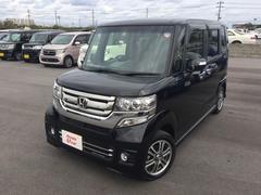 沖縄の中古車 ホンダ N BOXカスタム 車両価格 156.8万円 リ済別 平成29年 0.4万K ブラックパール