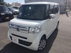 沖縄の中古車 ホンダ N BOX 車両価格 130.8万円 リ済別 平成28年 0.8万K ホワイトパール