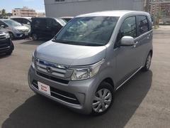 沖縄の中古車 ホンダ N−WGN 車両価格 121.8万円 リ済別 平成28年 0.7万K シルバーメタリック