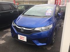 沖縄の中古車 ホンダ フィットハイブリッド 車両価格 169.8万円 リ済別 平成29年 0.8万K ブルー