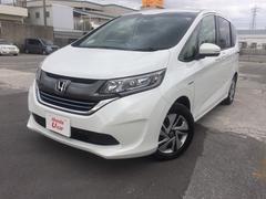 沖縄の中古車 ホンダ フリードハイブリッド 車両価格 240.8万円 リ済別 平成29年 0.9万K ホワイトパール