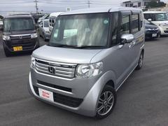 沖縄の中古車 ホンダ N BOX+ 車両価格 102.8万円 リ済別 平成25年 3.7万K シルバーメタリック